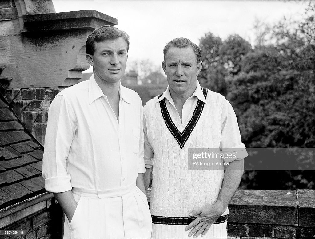Cricket - Australian Tour of England 1956 : News Photo