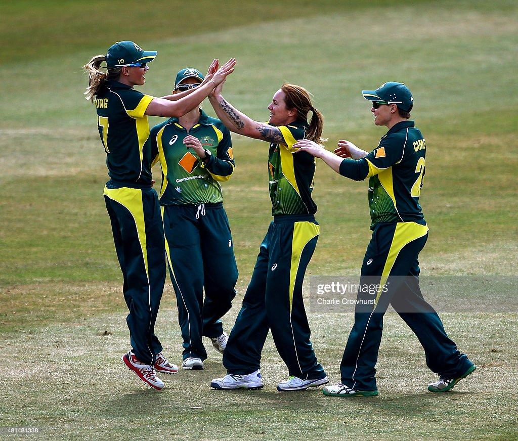 England Women v Australia Women: Women's Ashes Series - 1st Royal London ODI : News Photo
