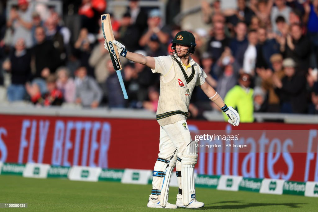 England v Australia - Fourth Test - Day Four - 2019 Ashes Series - Emirates Old Trafford : News Photo