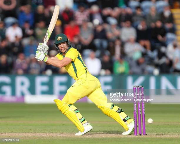 Australia's Tim Paine during the Royal London OneDay Series 2nd ODI between England and Australia at Sophia Gardens on June 16 2018 in Cardiff Wales