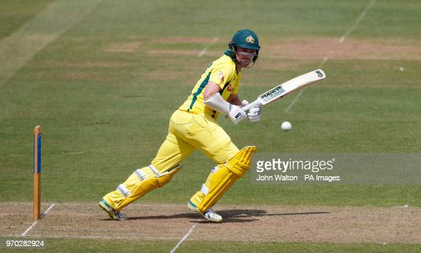 Australia's Travis Head during the international friendly match at Lord's London