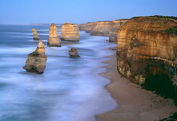 Australia,Victoria,Port Campbell National Park,Twelve Apostles,dawn