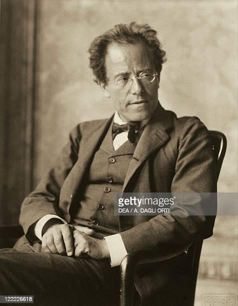 Austria 20th century Gustav Mahler Austrian composer and conductor of Bohemian origin Photographic portrait