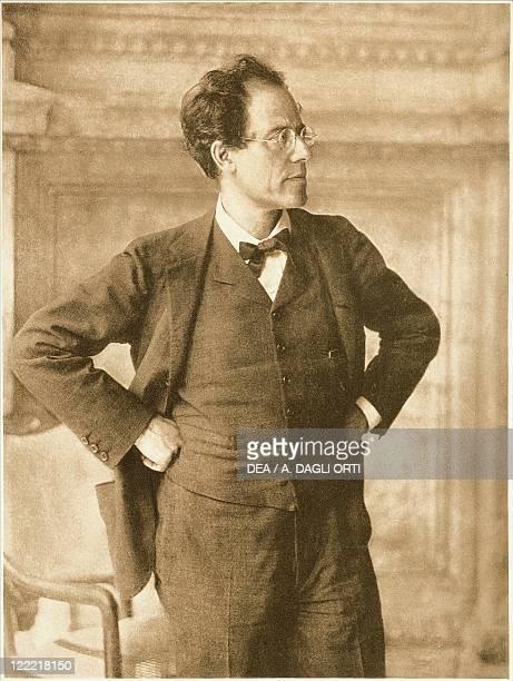 Austria 20th century Gustav Mahler portrayed by Moritz Nahr in foyer of Vienna Court Opera 1907