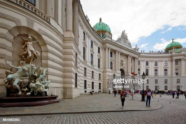 Austria AVienna Danube Federal Capital Hofburg Palace Michaelerplatz UNESCO World Heritage Site