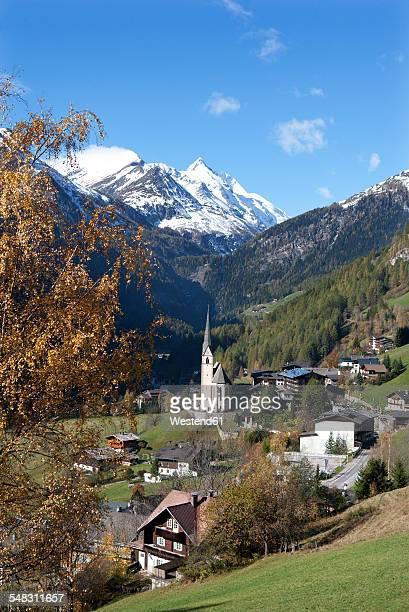 Austria, Carinthia, Heiligenblut am Grossglockner, Hohe Tauern, Grossglockner