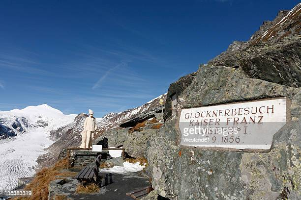 Austria, Carinthia, View of grossglockner mountains at hohe tauern national park