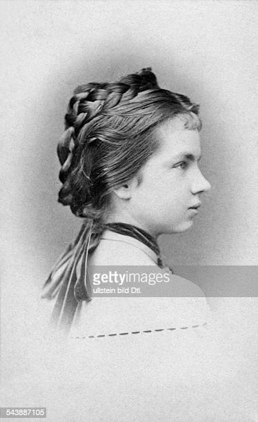 Austria Gisela Louise Marie Princess Imperial and Archduchess of AustriaPrincess of Bavaria*12071856 Photographer Ludwig Angerer undatedVintage...