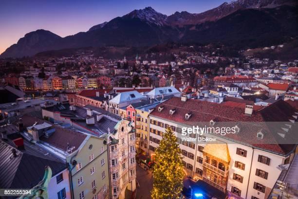 austria, innsbruck, exterior - innsbruck stock pictures, royalty-free photos & images