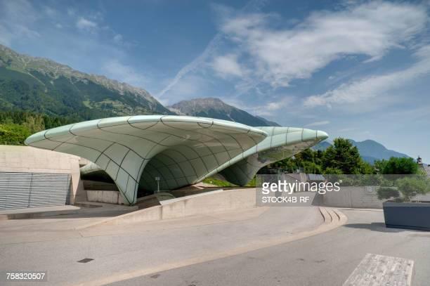 'Austria, Innsbruck, Hungerburgbahn station'