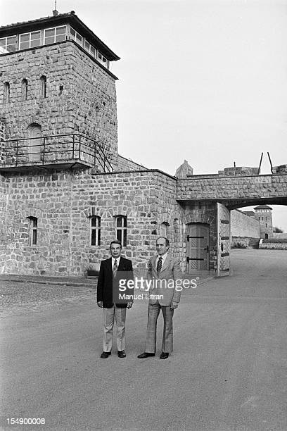 Austria Mauthausen April 24 29 years after the victory of the Allies and the capitulation of Axis forces the Swiss banker Louis Haefliger Swiss...
