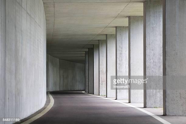 Austria, Mondsee, Concrete underpass