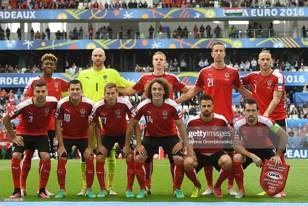 Austria v Hungary - Group F: UEFA Euro 2016 : News Photo
