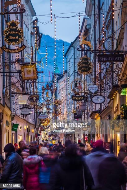 austria, salzburg, exterior - salzburg stock pictures, royalty-free photos & images