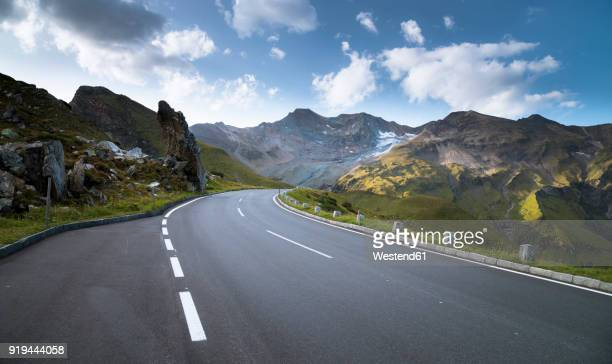 austria, salzburg state, grossglockner high alpine road, fuscherkarkopf - mountain pass stock pictures, royalty-free photos & images