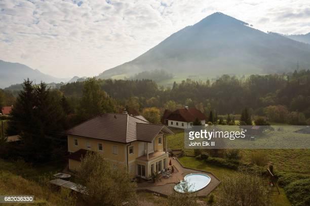 Austria, Salzkammergut, rural house