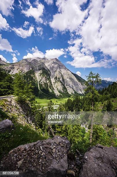 Austria, Tyrol, Karwendel mountains, View to Engalm