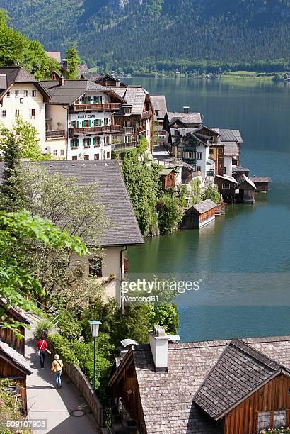 Austria, Upper Austria, Salzkammergut, Hallstatt, Lake Hallstaetter See