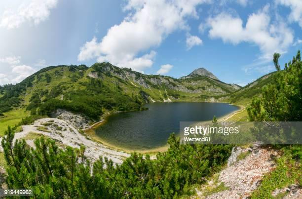 Austria, Upper Austria, Salzkammergut, Totes Gebirge, Wildensee, Rinnerkogel