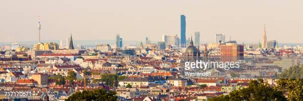 Austria, Vienna, cityscape, panorama