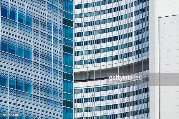 Austria, Vienna, Donau City, office buildings