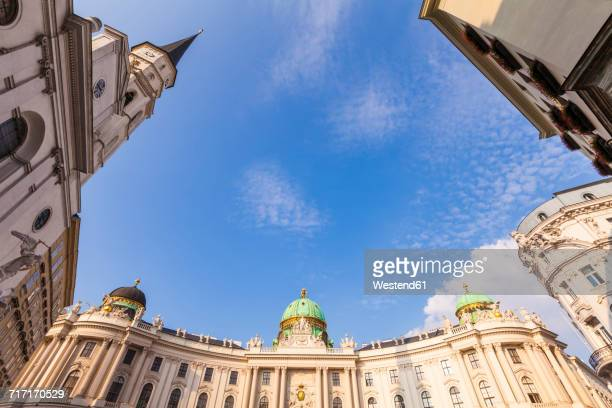 Austria, Vienna, Michaelertrakt, Hofburg, Michaelerkirche