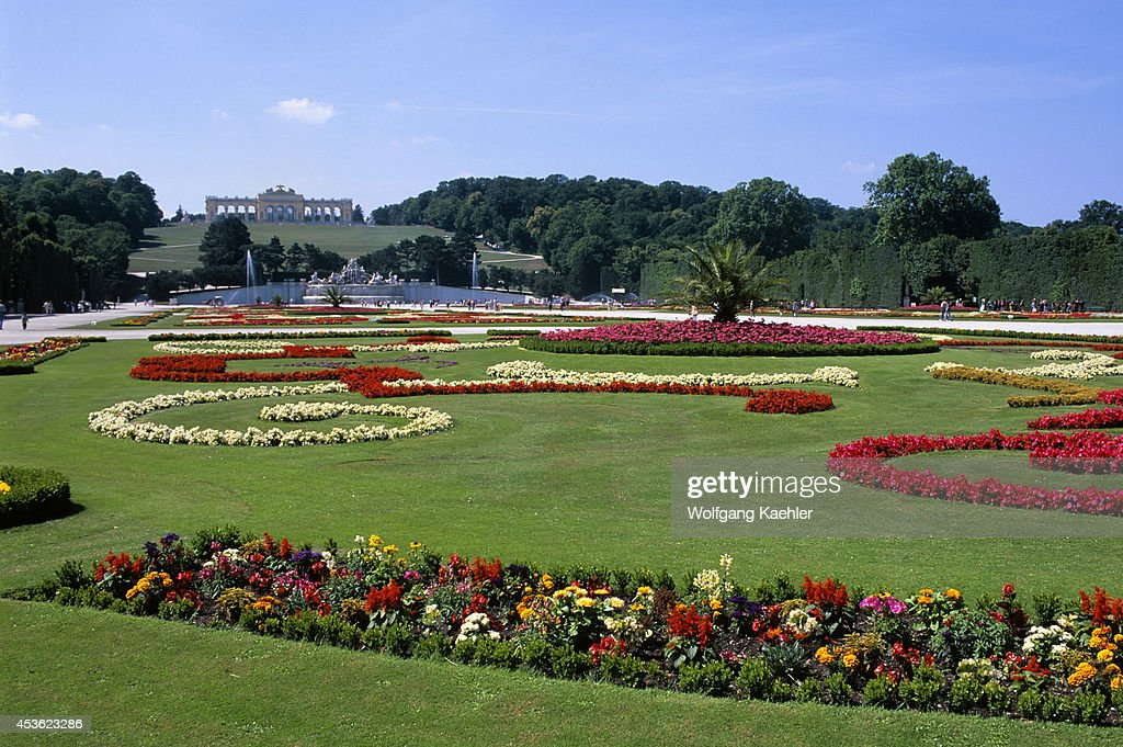 Austria, Vienna, Schonbrunn Palace, View Of Gardens With... Pictures ...