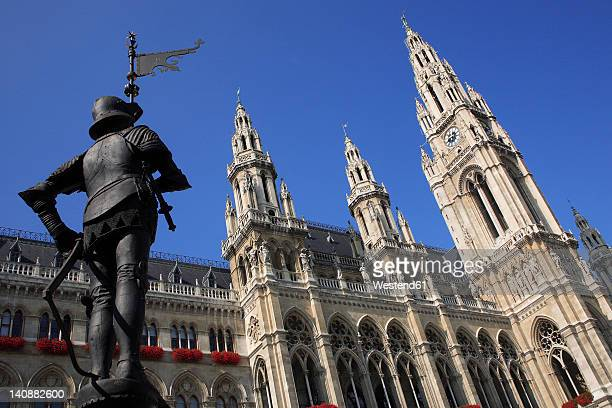 Austria, Vienna, View of City Hall