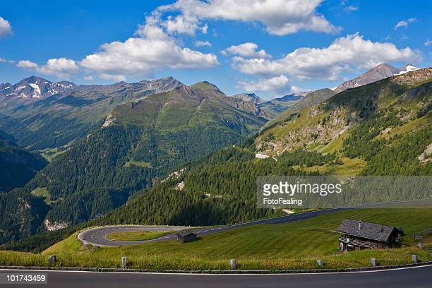 Austria, View of the Alps from the Grossglockner High Alpine road