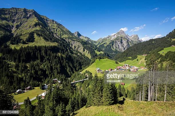 Austria, Vorarlberg, Hochtannberg Mountain Pass near Schroecken