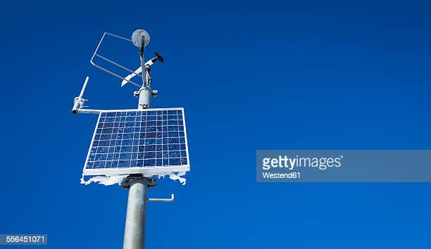 Austria, weather station, solar cell