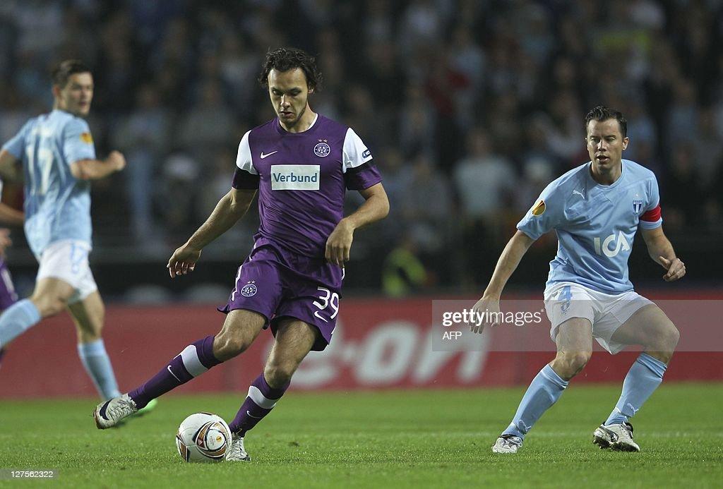 Malmo FF v FK Austria Wien - UEFA Europa League