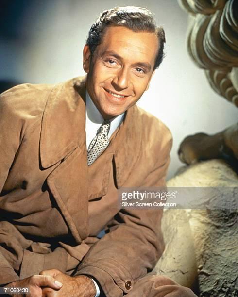 Austrian actor and director Paul Henreid circa 1955