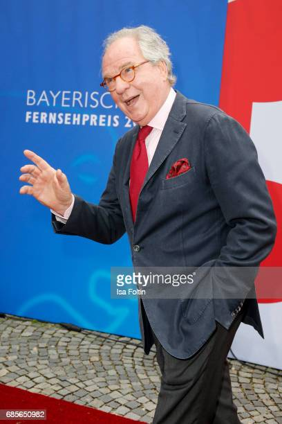 Austrian actor Friedrich von Thun attends the Bayerischer Fernsehpreis 2017 at Prinzregententheater on May 19 2017 in Munich Germany