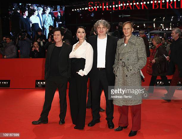 Austrian actor Georg Friedrich, German director Wolfgang Murnberger, Austrian actress Ursula Strauss and German actor Uwe Bohm attend the 'Mein...