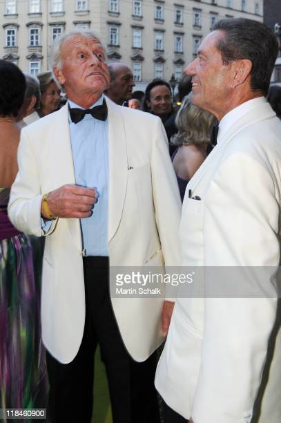 Austrian actor Helmut Lohner at 2nd Fete Imperial as a benefit event for the famous Spanish Riding School at imperial Vienna Hofburg Palace on July 7...