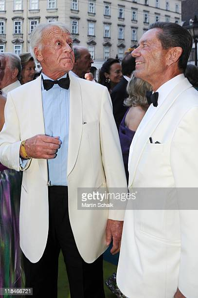 Austrian actor Helmut Lohner attends the 2nd Fete Imperial as a benefit event for the famous Spanish Riding School at imperial Vienna Hofburg Palace...