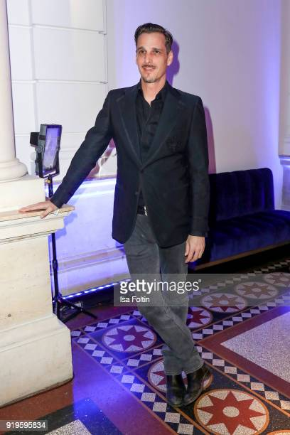 Austrian actor Max von Thun attends the Blue Hour Reception hosted by ARD during the 68th Berlinale International Film Festival Berlin on February 16...