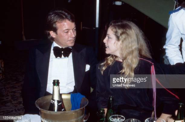 Austrian actor Robert Hoffmann and American actress Sydne Rome, Germany, 1970s.