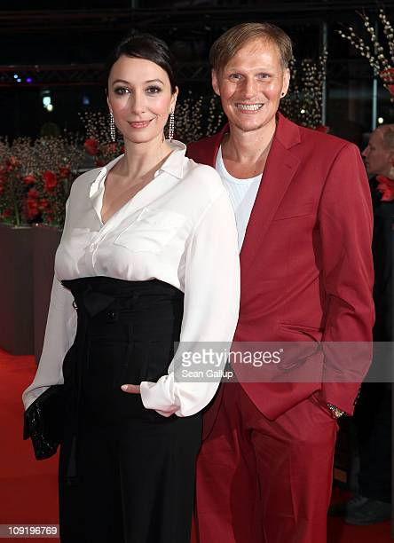 Austrian actors Ursula Strauss and Georg Friedrich attend the 'Mein Bester Feind' Premiere during day seven of the 61st Berlin International Film...