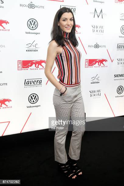 Austrian actress Amira El Sayed attends the New Faces Award Style 2017 at The Grand on November 15 2017 in Berlin Germany