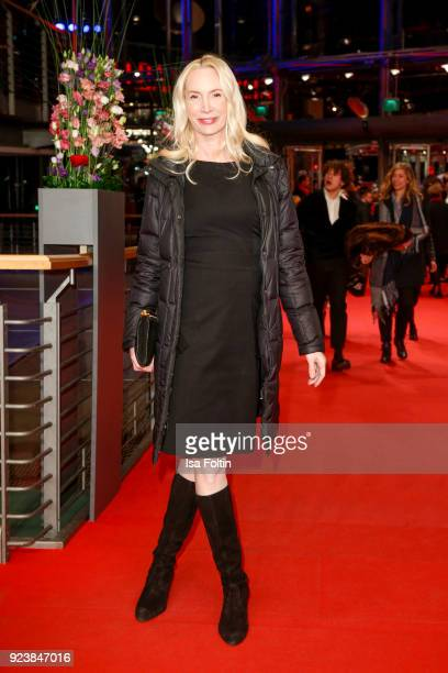 Austrian actress and director Feo Aladag attends the closing ceremony during the 68th Berlinale International Film Festival Berlin at Berlinale...