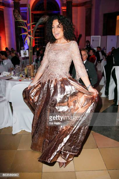 Austrian actress Barbara Wussow during the Minx Fashion Night in favour of 'Sauti Kuu' of Auma Obama at Wuerzburger Residenz on September 23 2017 in...