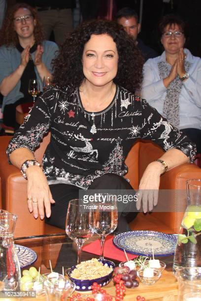 Austrian actress Barbara Wussow during the 'NDR Talk Show' on December 14 2018 in Hamburg Germany