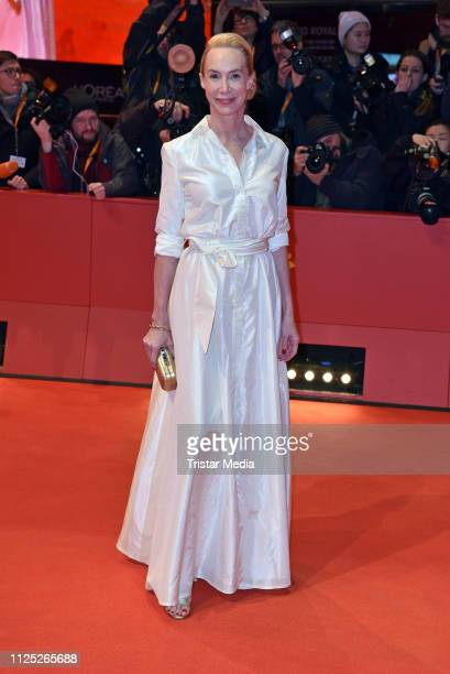 Austrian actress Feo Aladag arrives for the closing ceremony of the 69th Berlinale International Film Festival Berlin at Berlinale Palace on February...