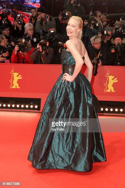 Austrian actress Feo Aladag attends the Opening Ceremony 'Isle of Dogs' premiere during the 68th Berlinale International Film Festival Berlin at...