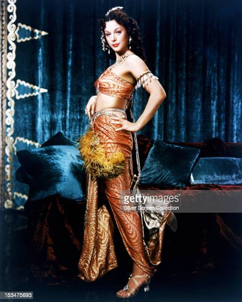 Austrian actress Hedy Lamarr as Delilah in Cecil B DeMille's biblical epic 'Samson And Delilah' 1949