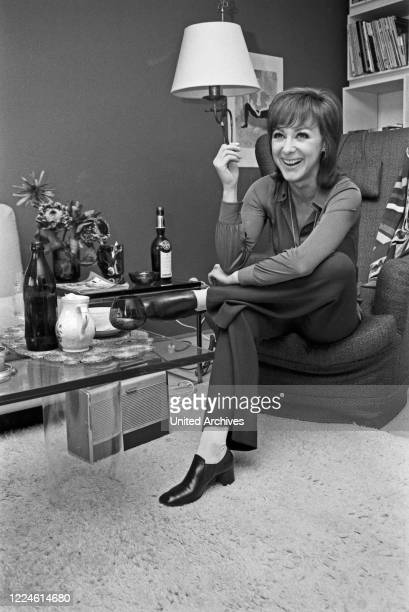 Austrian actress Heidelinde Weis Germany 1970s