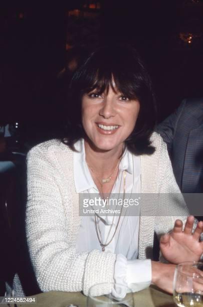 Austrian actress Heidelinde Weis Germany 1980s