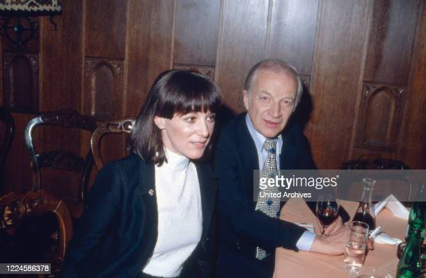 Austrian actress Heidelinde Weis with husband Hellmuth Duna Germany 1980s